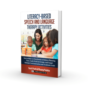 Literacy-based speech and language activities