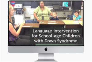 speech therapy for down syndrome