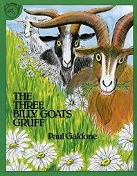 teletherapy speech activities for toddlers three billygoats book